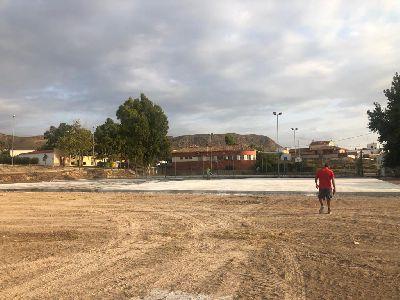 El Ayuntamiento de Lorca avanza en la construcción de la gran zona de ocio en La Campana