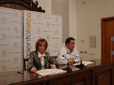 La Junta de Gobierno encarga cuatro obras más del PIMUN`09 a empresas lorquinas y hace lo propio con otros cinco proyectos adjudicados provisionalmente