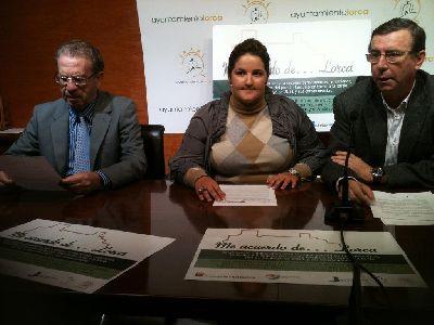 La asociación Anabad-Murcia prepara el libro ''Me acuerdo de Lorca'' que ayudará a mejorar el equipamiento de las bibliotecas y el archivo municipal