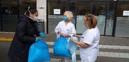 El Ayuntamiento de Lorca pone en marcha una iniciativa solidaria para la realización de material sanitario