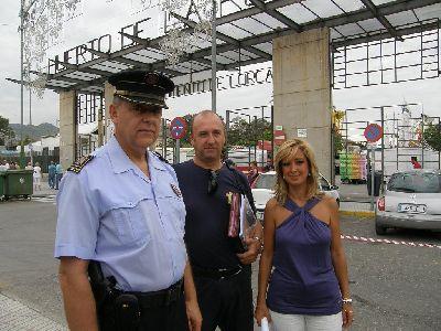 450 personas, 50 efectivos más que el año pasado, velarán por la seguridad durante la celebración de la Feria y Fiestas de Lorca