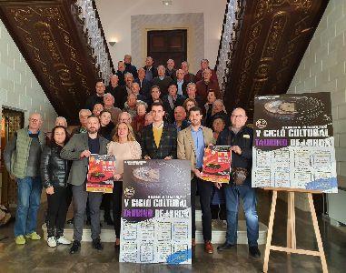 Tertulias, pintura, gastronomía y solidaridad componen el V Ciclo Cultural Taurino de Lorca que tendrá lugar del 6 de febrero al 28 de marzo