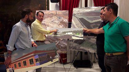 Lorca invierte 3,6 millones de euros para mejorar estética y medioambientalmente el centro de gestión de residuos de Barranco Hondo y triplicar su capacidad de tratamiento