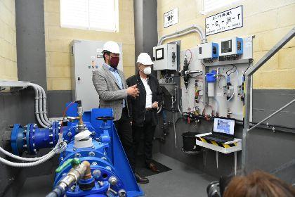Aguas de Lorca, pionera en implantar el análisis en continuo de trihalometanos en el agua potable de la red municipal