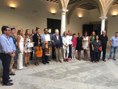 El Teatro Guerra de Lorca acogerá la XXIX edición del Festival Internacional de Cante Flamenco ''Ciudad del Sol'' los días 7, 8 y 9 de noviembre