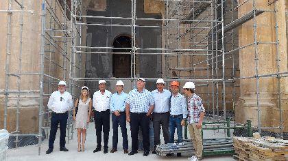 El Alcalde, Fulgencio Gil: ''la recuperación de la iglesia de Santa María para los lorquinos marca un hito histórico del que todos podemos sentimos orgullosos''