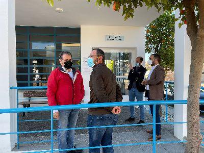 El Ayuntamiento de Lorca invierte 43.717 euros en la remodelación del consultorio de Almendricos