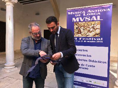 Los monumentos de Lorca recuperarán el vetusto sonido de las melodías histórica gracias a la celebración del VI Festival de Música Antigua