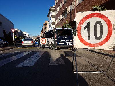 Intervenidas 1.800 prendas falsificadas con un valor de 60.000 euros gracias a un control puesto en marcha por la Unidad UPROL de la Policía Local de Lorca