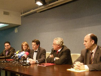 El Alcalde de Lorca, Francisco Jódar, y el Rector de la UMU, José Antonio Cobacho, ponen en marcha el Centro de Estudios Medievales