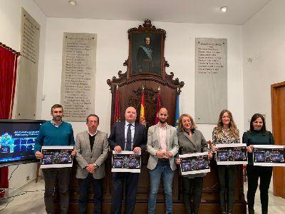 La fachada del Ayuntamiento de Lorca se convertirá en escenario del Vídeo Mapping ''Lorca vive la Navidad'' del 21 al 23 y del 26 al 30 de diciembre