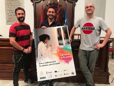 Cazalla Intercultural pone en marcha el proyecto ''Our Scope'' en el que 6 lorquinos podrán impartir talleres sobre temas audiovisuales y artísticos a otros jóvenes europeos