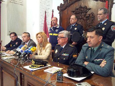El dispositivo especial de Seguridad y Emergencias para Semana Santa se pone en marcha hoy con la participación de más de 600 efectivos