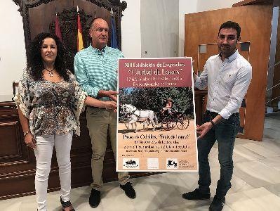 Más de 40 coches de caballos participarán en la XIII Exhibición de Enganches de la Feria de Lorca que tendrá lugar por las Alamedas y el centro de la ciudad
