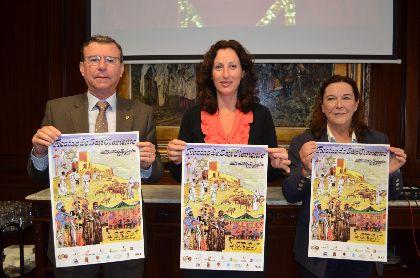 El Ayuntamiento de Lorca y la Federación San Clemente promocionan en Almería las fiestas de Musulmanes, Cristianos y Judíos, que se inician hoy