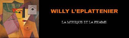 El suizo Willy L´Eplattenier expone en Lorca hasta el 15 de abril una muestra de pintura
