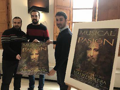 El Teatro Guerra acogerá el sábado 18 de marzo la representación del musical ''La Pasión de Cristo'' en el que participan 40 personas con música y voz en directo