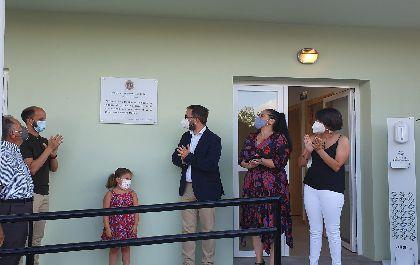El alcalde de Lorca inaugura el Consultorio Médico de Campillo tras culminar los trabajos de ampliación y remodelación