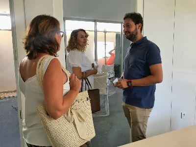 Imagen de La nueva sede de la Concejalía de Igualdad, ubicada en el casco histórico, situará a Lorca como referente regional en asistencia a la mujer y fomento de la igualdad