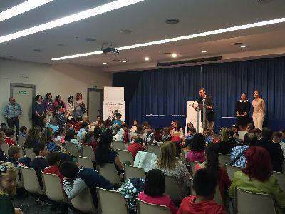 Lorca inicia los actos conmemorativos del Día Mundial del Libro con la entrega de premios del XXXI Concurso Infantil ''María Fernández-Luna''