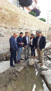 Las obras de recuperación de la Fuente del Oro permiten recuperar uno de los enclaves más tradicionales del casco urbano con una inversión de 265.000 euros
