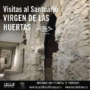 Mañana a las 11:30 horas comienzan las visitas turísticas a los  restos del Palacio Califal ubicado en el templo de la Virgen de las Huertas
