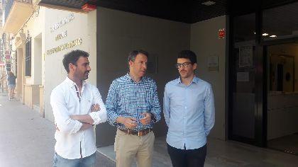 El Ayuntamiento establece desde hoy una sala 24 horas en el Centro Cultural Alcalde José María Campoy para que los estudiantes lorquinos puedan preparar sus exámenes