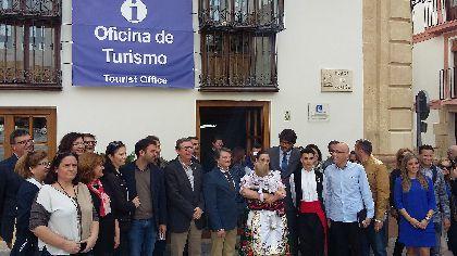 La Plaza de España, corazón del casco histórico lorquino, alberga la nueva sede de la Oficina de Turismo