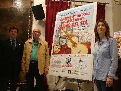 El teatro Guerra acogerá los día 6 y 7 de noviembre la celebración del XX Festival de Flamenco ?Ciudad del Sol?