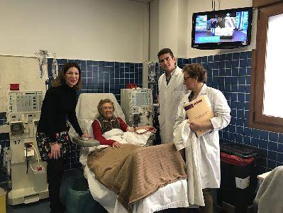 La Concejalía de Sanidad colabora con la Asociación de Ayuda al Enfermo Renal para que la misma preste apoyo a las personas que sufren esta enfermedad