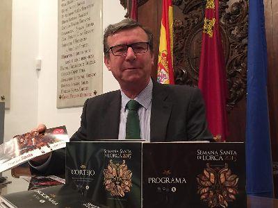 25.500 publicaciones se repartirán como parte del dispositivo de información turística de la Semana Santa de Lorca 2015