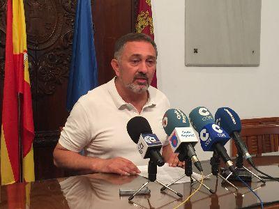 El Ayuntamiento de Lorca invertirá 40.000 euros del Plan de Obras de Pedanías en la creación de un paso de hormigón a través del Guadalentín que unirá la Ribera de San Miguel y la Carretera de Caravaca