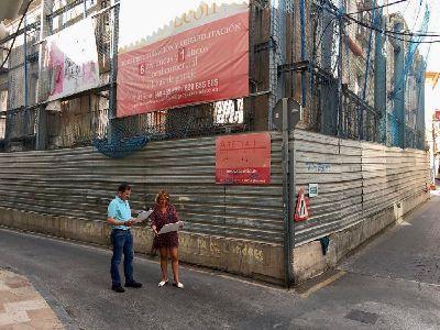 Continúa el proceso para la implantación del hotel ''Casa del León'' en el casco histórico de Lorca