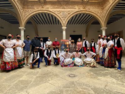 El Ayuntamiento celebra la creación de la sección Juvenil Folklore de Lorca de Coros y Danzas Virgen de las Huertas