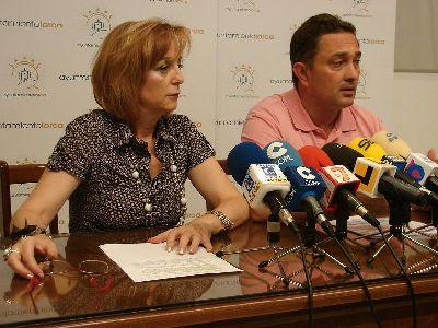 El Ayuntamiento de Lorca firmará un convenio de colaboración con AMUSAL para el fomento de la economía social y el empleo en el municipio