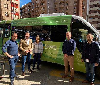 La empresa municipal Limusa adquiere un nuevo autobús para el transporte urbano de viajeros en las rutas de las pedanías