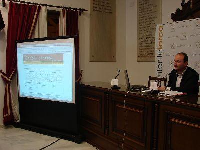 Los lorquinos disponen desde hoy de la web de información multimedia www.lorca.es/lorcainforma