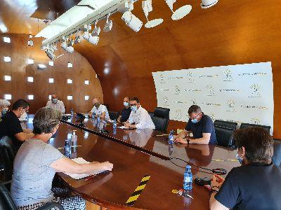 Ayuntamiento de Lorca y Área III de Salud refuerzan la coordinación para combatir el avance de la quinta ola de Covid-19