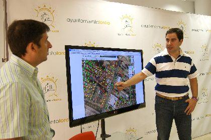 El estado de las edificaciones lorquinas podrá ser consultado en Internet gracias a una aplicación desarrollada por la concejalía de Sociedad de la Información