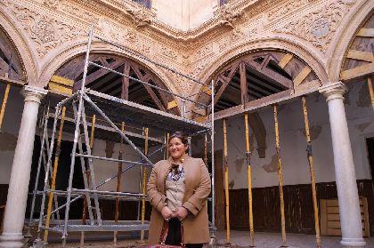 El Ayuntamiento de Lorca espera que el Palacio de Guevara, dañado por los seísmos, pueda ser visitado por turistas a finales de año