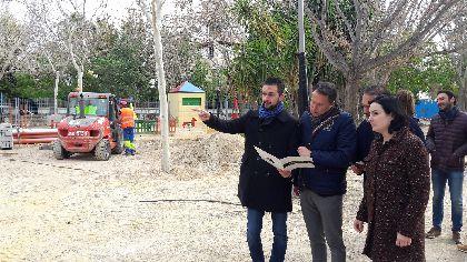 La Consejería de Fomento renovará por completo el Parque Pediatra Diego Pallarés Cachá, que dispondrá de siete zonas de juegos para niños