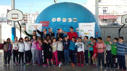 Escolares lorquinos aprenden h�bitos saludables de alimentaci�n y las ventajas de consumir las frutas y verduras de nuestra comarca
