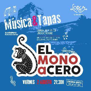 La banda ''El Mono a Cero'' abrirá, este próximo viernes, el programa Música & Tapas en el Castillo de Lorca