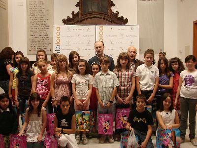 Peñarrubia entrega los 20 premios de la campaña escolar de prevención de riesgos ?Crece en Seguridad?, en el que han participado ocho colegios de Lorca