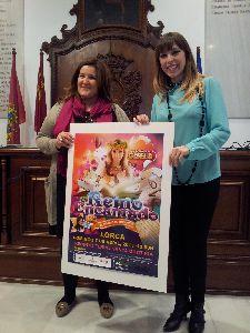 Gisela protagonizará en Lorca el musical infantil ''El Reino Encantado'' el 7 de abril