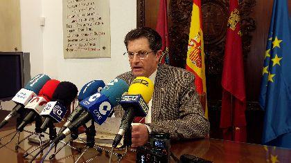 El Alcalde afirma que el desmontaje de la antigua subestación de La Viña es una cuestión de ''justicia social'' que los lorquinos nos merecemos ver satisfecha