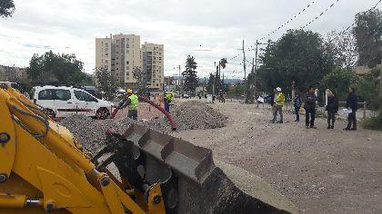 Comienzan las obras para mejorar la seguridad peatonal en Camino Marín dotando de nuevas aceras, mejor iluminación y un nuevo vial que conectará con Alameda de Cervantes