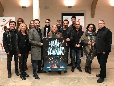 La Compañía El Molino presenta el cartel de su nuevo musical ''La Dama y el Vagabundo'' realizado por Daniel Acuña, dibujante de la multinacional Marvel