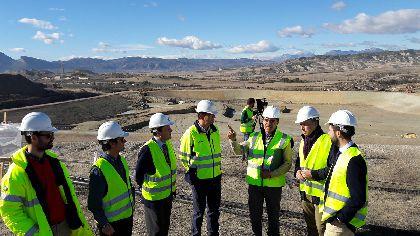 El nuevo vaso del CGR será un 55% más eficiente y económico que el anterior, multiplicará por 4 su vida útil y sitúa a Lorca como modelo nacional en tratamiento de basura