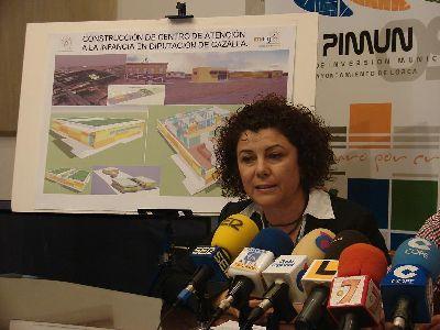 La Junta de Gobierno del Ayuntamiento de Lorca inicia el expediente para la adjudicación de las obras de Centro de Atención a la Infancia en Cazalla